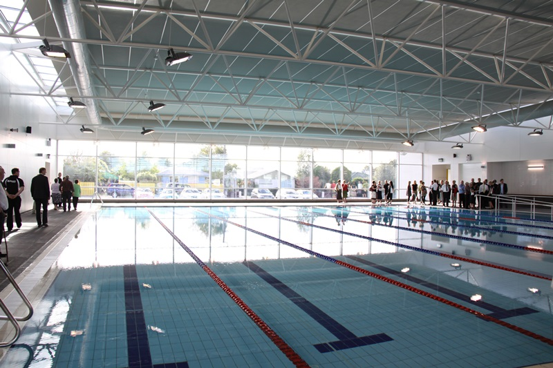 dudley park aquatic centre rangiora naylor love commercial construction