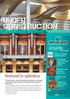 Under Construction Magazine - March 2015