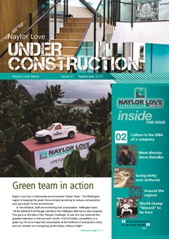 Under Construction Magazine - September 2015